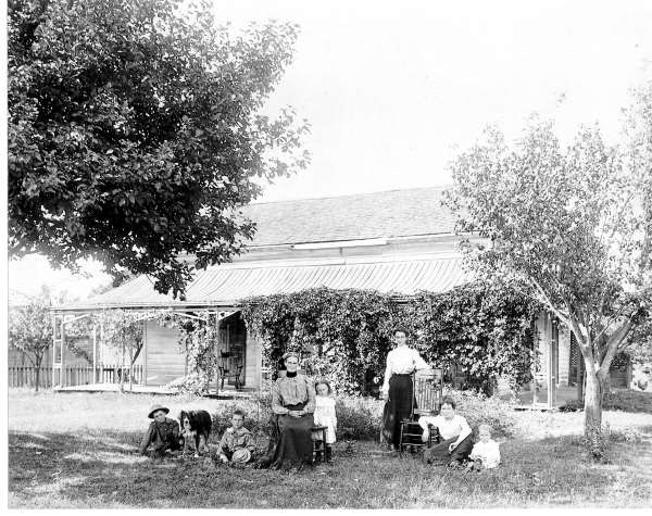Meriam homestead 1904